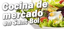 restaurantes de sant boi cocina de mercado