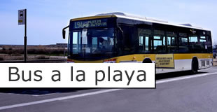 Bus a la playa L96 sant boi