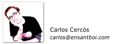 Carlos Cercos, Sant Boi, Barcelona