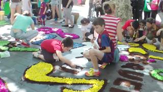 Festa de Capvuitada en Sant Boi