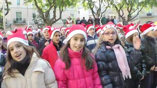 Cantada de nadales en Sant Boi
