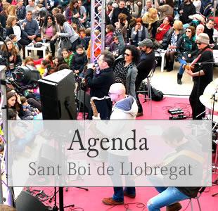 Agenda de sant boi , barcelona