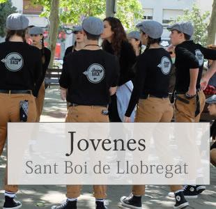 jovenes en sant boi , barcelona