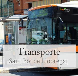 transportes de sant boi, barcelona
