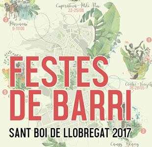 Festes de barris Sant Boi de Llobregat, barcelona