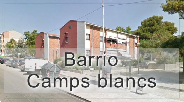 Barrio Camps Blancs de Sant Boi barcelona