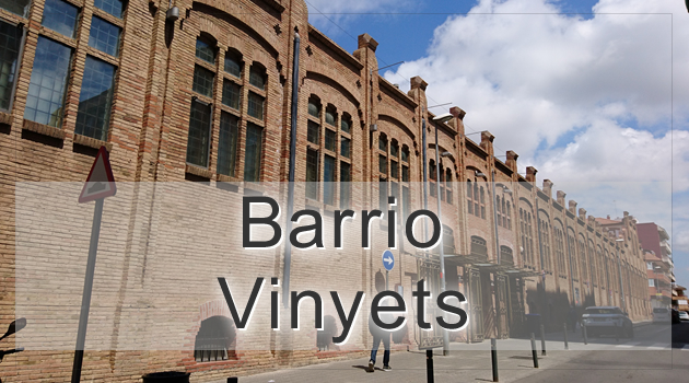 Barrio Vinyets Sant Boi barcelona