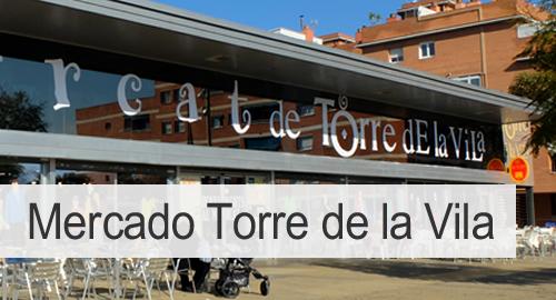 Mercado de torre de la Vila de Sant Boi, barcelona