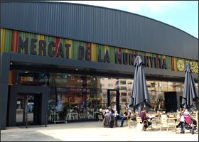 Mercado de la Muntanyeta de sant boi barcelona