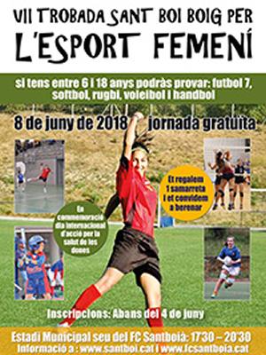 Jornada de Sant Boi boig per l'esport femení sant boi, barcelona