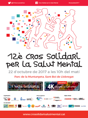 Cross solidari per a la salut mental a Sant Boi, barcelona