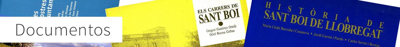 documentos de Sant Boi